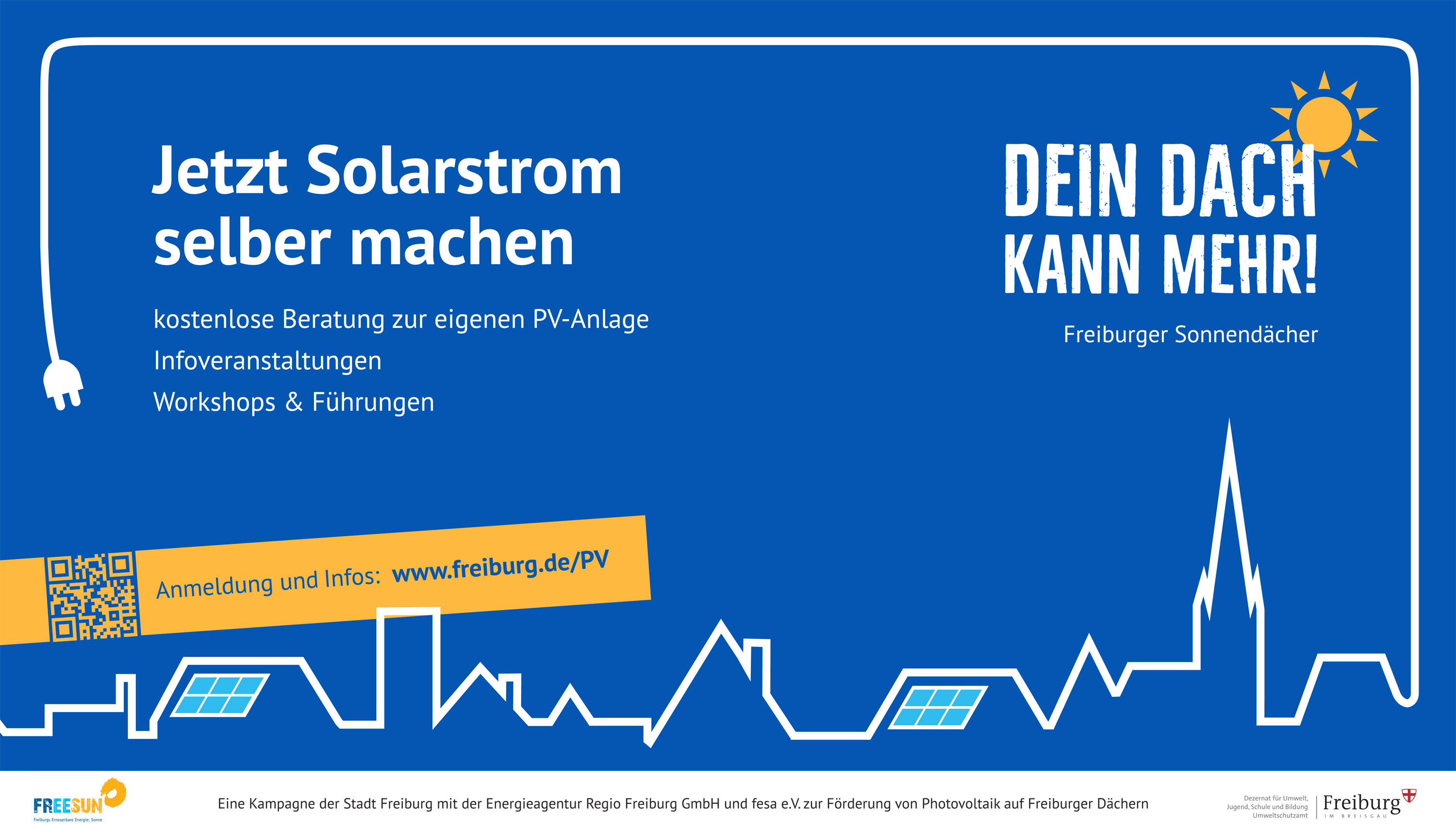 Corporate Design – Photovoltaik-Kampagne der Stadt Freiburg